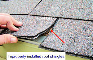 Improper Roofing Installation